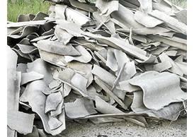 Asbesthaltige Baustoffe