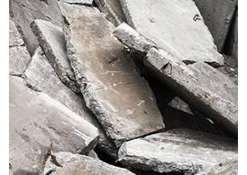 Beton ohne Stahl (Kantenlänge < 60 cm)